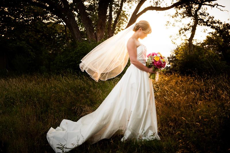 classic breath taking bridal portrait in Austin