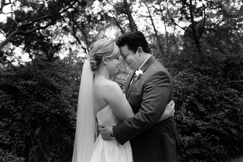 bride and groom black and white portrait austin best wedding photographer