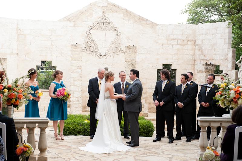 wedding ceremony vista at seaward hill