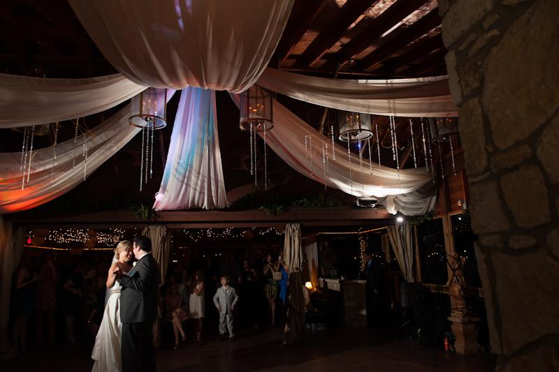 first dance vista on seaward hill wedding