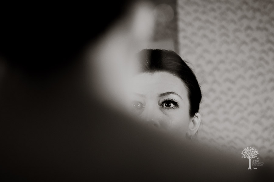 getting ready, bride, reflection, photojournalism, Austin Wedding Photographer, Four Seasons Hotel, Four Seasons, Dripping Springs Wedding Photographer, San Antonio wedding photographer,