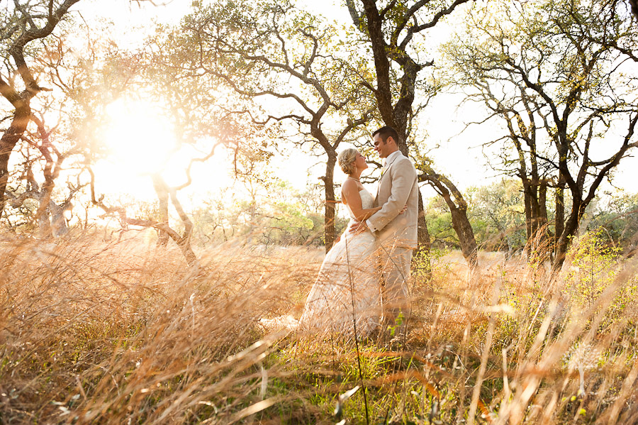 Austin Wedding Photographer, Texas Old Town, Sunset Portrait, Jenny DeMarco Photography, www.jennydemarco.com. Boulder Springs, golden, grass, field, natural light, vintage, antique, bright, sun-rays