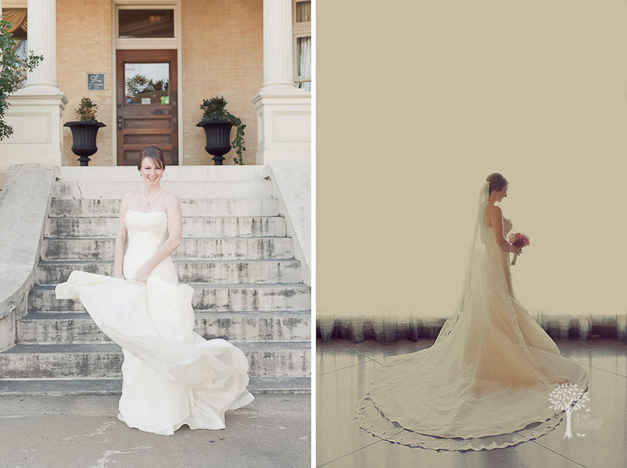 Mansion at Judge's Hill, Austin Wedding Photographer, Bridal Portraits, Courtyard Wedding