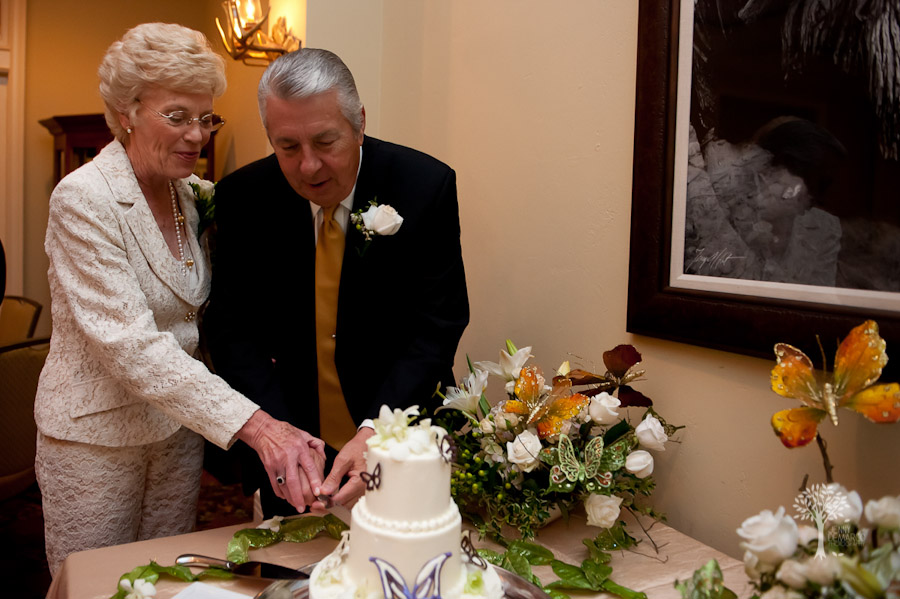 San Antonio Wedding Photography, Hyatt Regency, Hill Country Resort, Wildflower Spa, Wedding, cake cutting