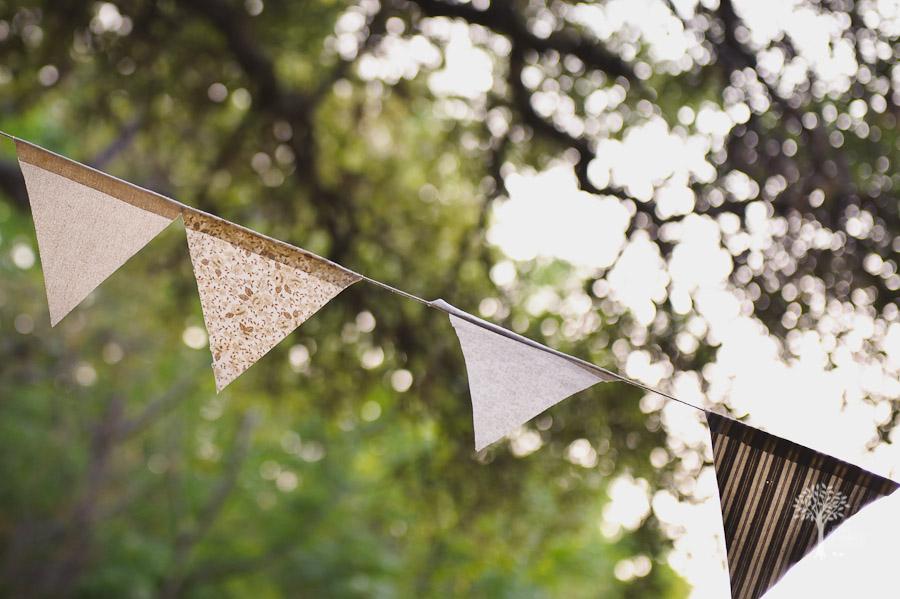 Fabric bunting, vintage wedding, shabby chic wedding, Austin, Mercury Hall, DIY, Fine Art Wedding Photography