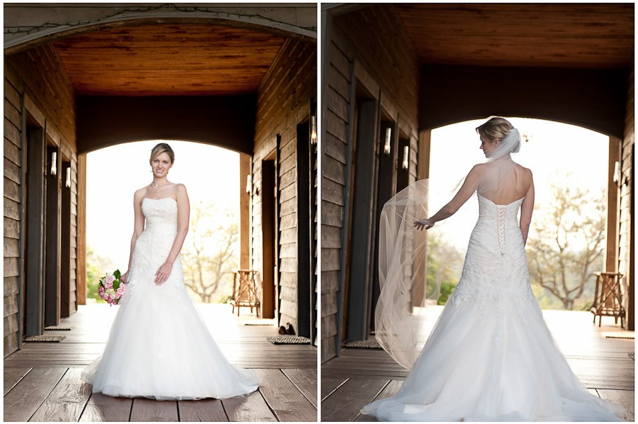 Jennifer :: High Fashion Bridals :: Inn Above Onion Creek