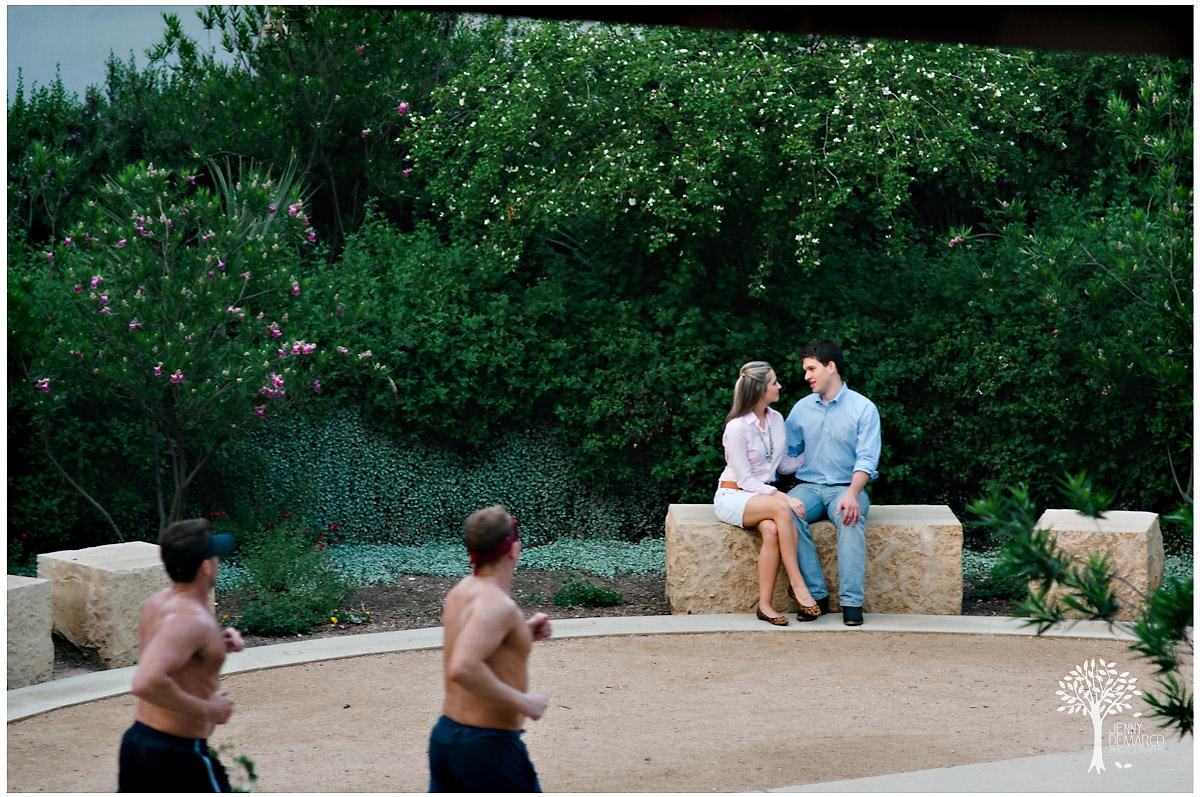 Photojournalist in austin shoot engagement portrait session