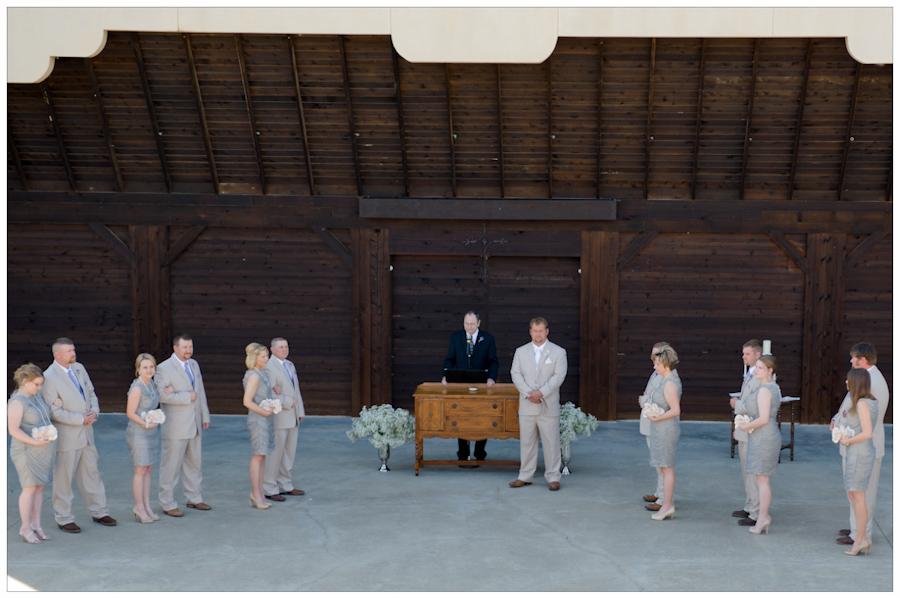 TCHCC Amphitheater wedding
