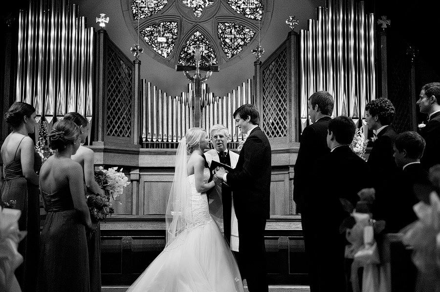 Ceremony at Westminster Presbyterian
