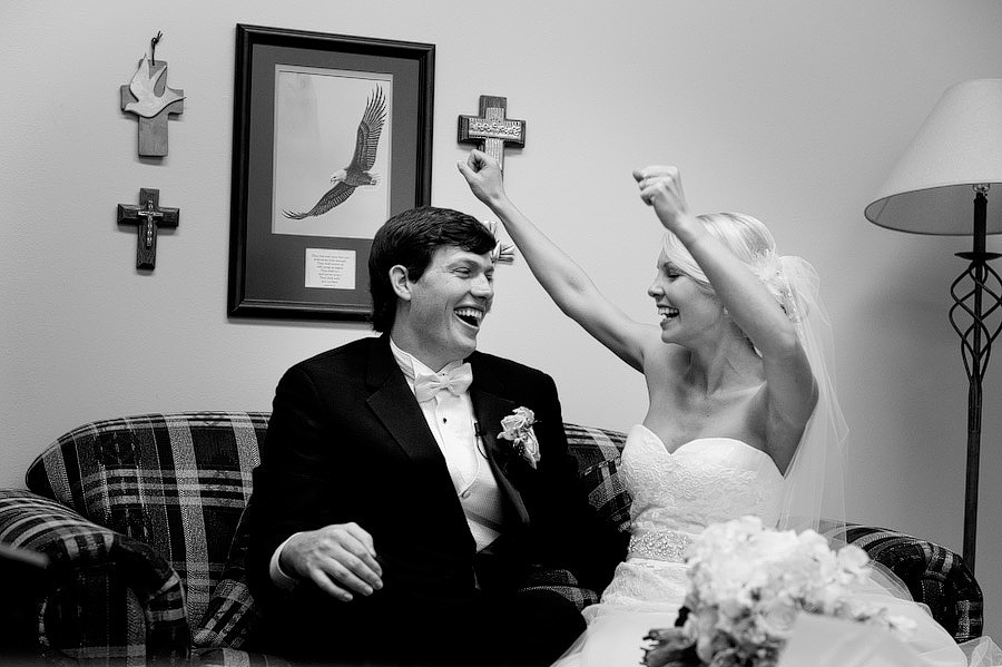 bride elated after wedding ceremony photojournalist moment capture emotions