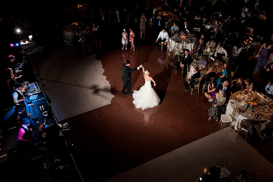 First Dance at the Bob Bullock museum downtown austin