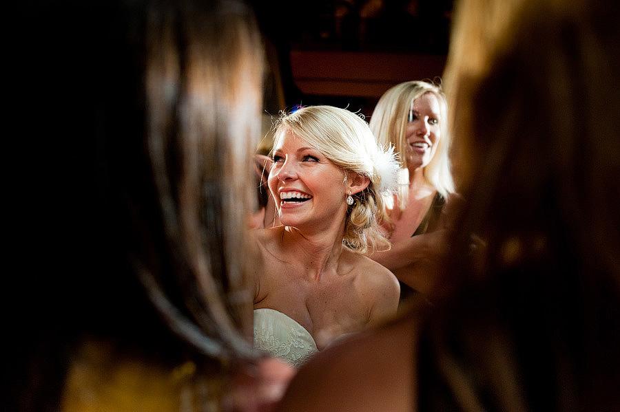 tri delts sing to bride