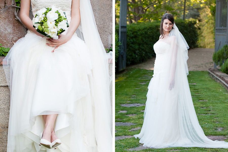 high fashion couture bridal portraits