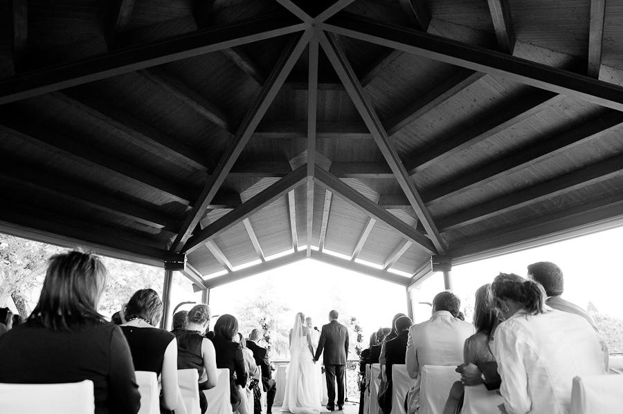 outdoor pavillion ceremony