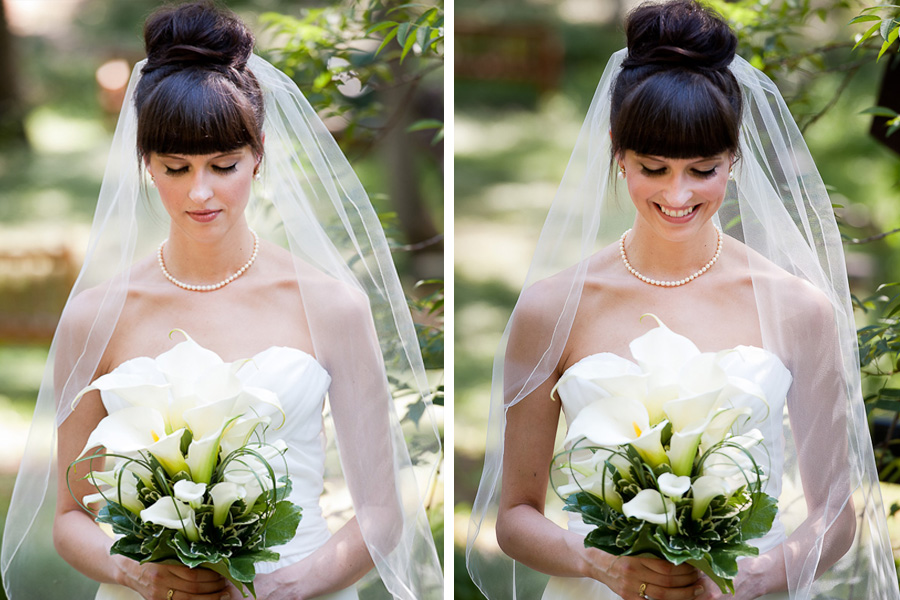 elegent high bun wedding day hair style