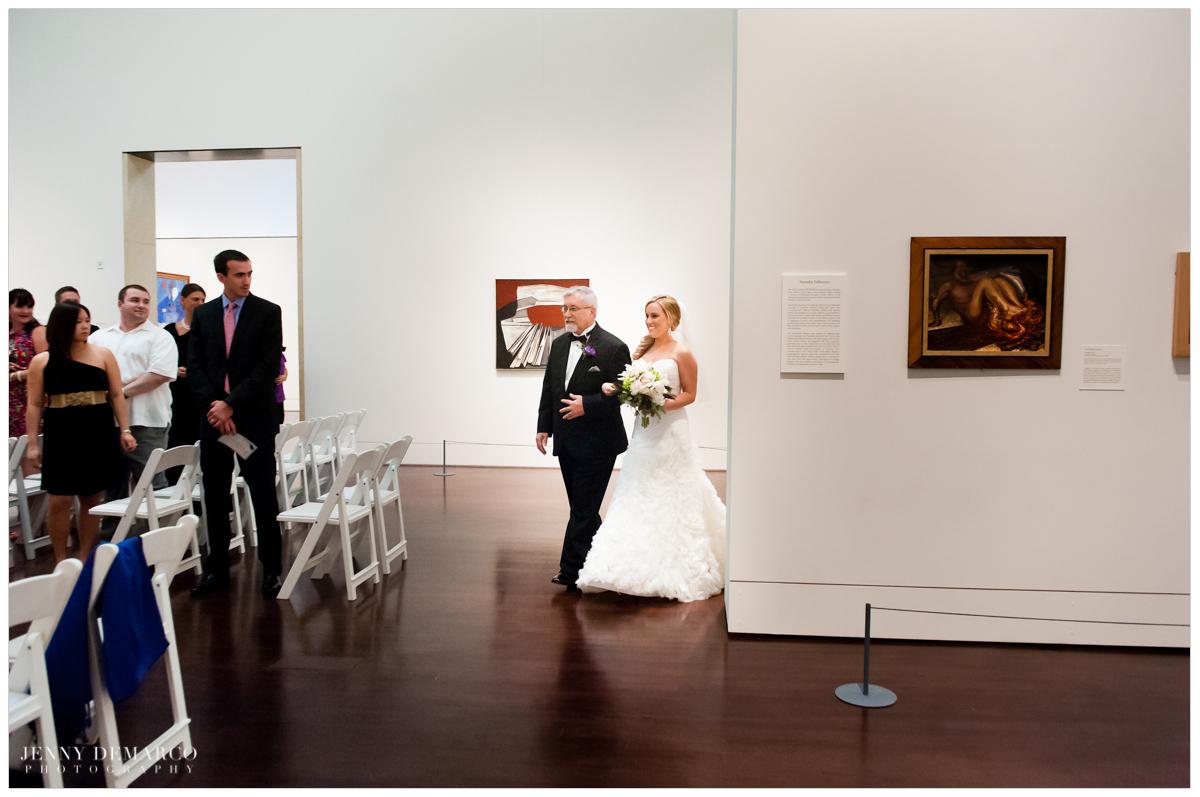 black tie weddings at downtown museum