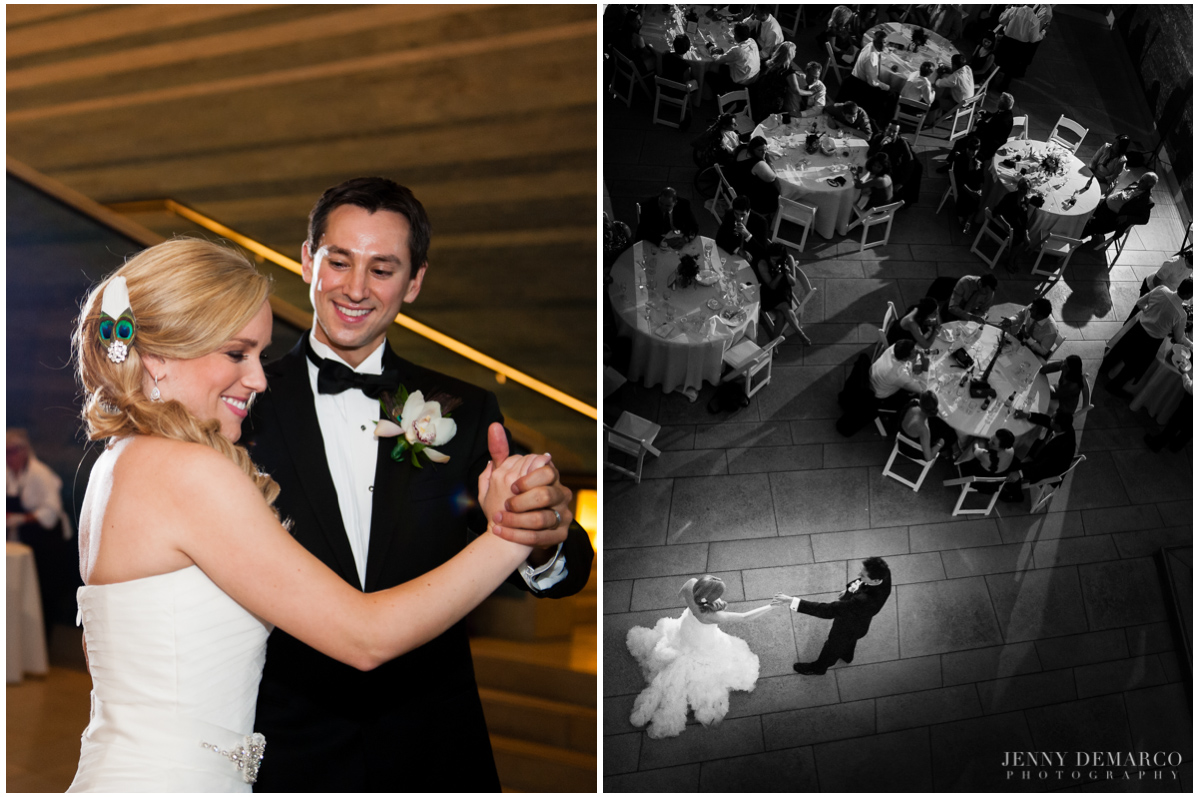 First dance at the Blanton Museum of Art