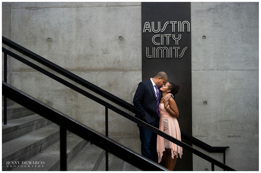 austin city limits engagement session