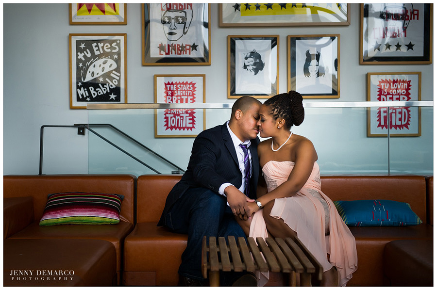 black wedding couple in austin