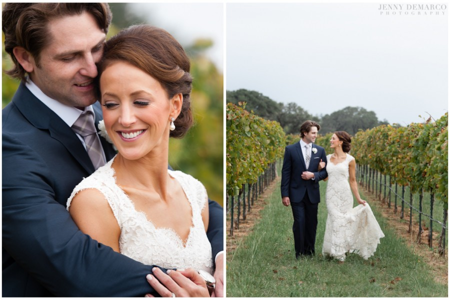Portraits taken by The Knot's Best of Weddings photographer, Jenny DeMarco.