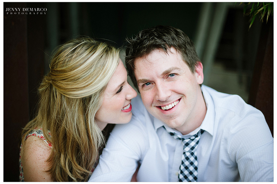 A casual engagement session with Austin's top wedding photographers.