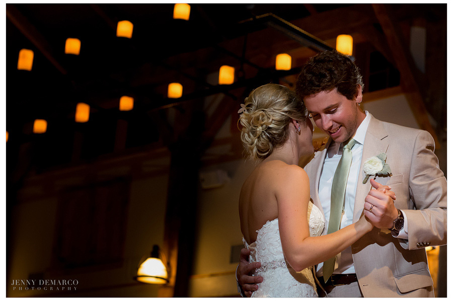 One of Austin's top wedding photographers captured a romantic moment in a Dripping Springs wedding.