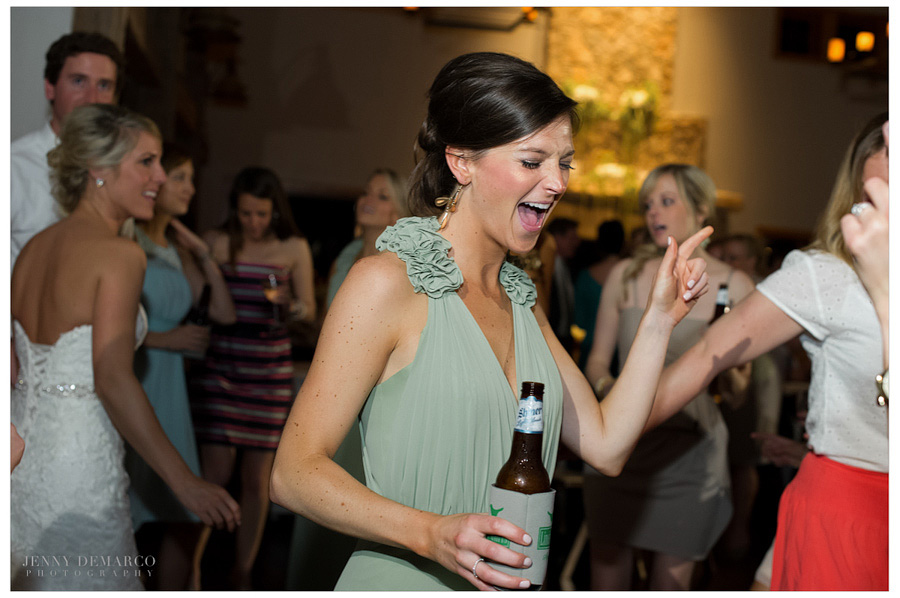 Fun-filled reception at the Events Hall near the French Colonial Chapel.