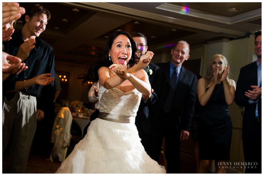 Gangnam Style dance at the wedding reception