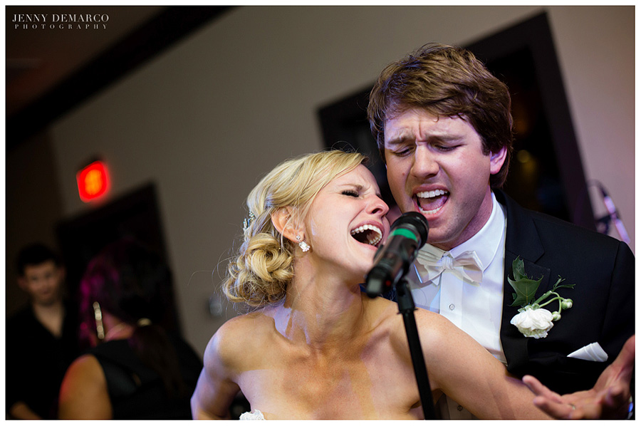 Image result for bride and groom karaoke