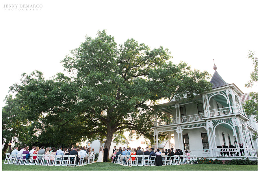 Barr Mansion was the perfect venue for this wedding.