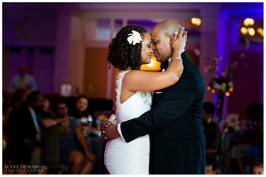 The African-American wedding in Austin was photographed by one of Austin's top wedding photographers.