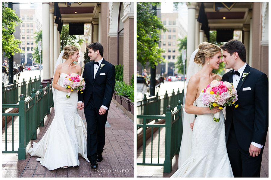 The wedding was photographed by one of Austin's top wedding photographers.