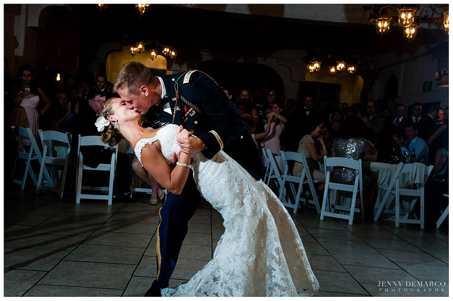 The first dance was stately and magnificent.