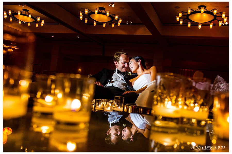 Summer Ballroom Wedding in Austin: Stephanie and Sam