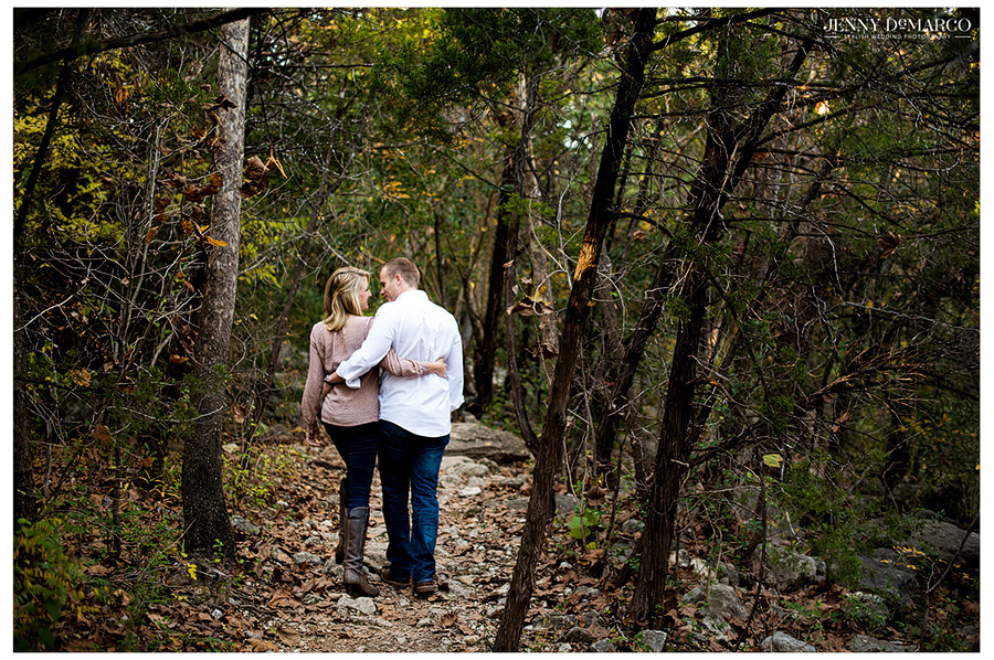 Top Austin wedding photographers photograph this engagement session in the Texas Hill Country.