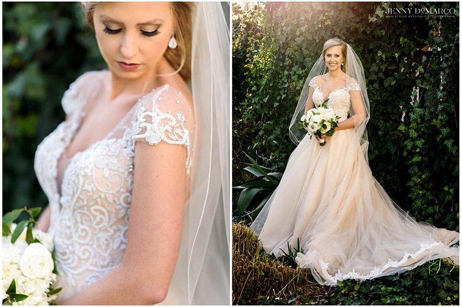 sweet springtime bridal session
