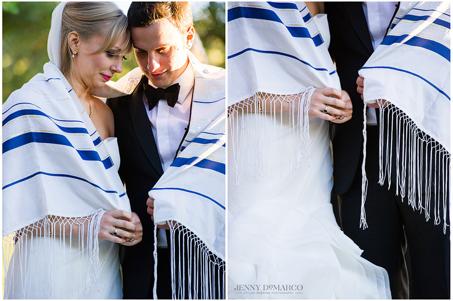 Jewish wedding traditions captured by amazing Austin wedding photographer.