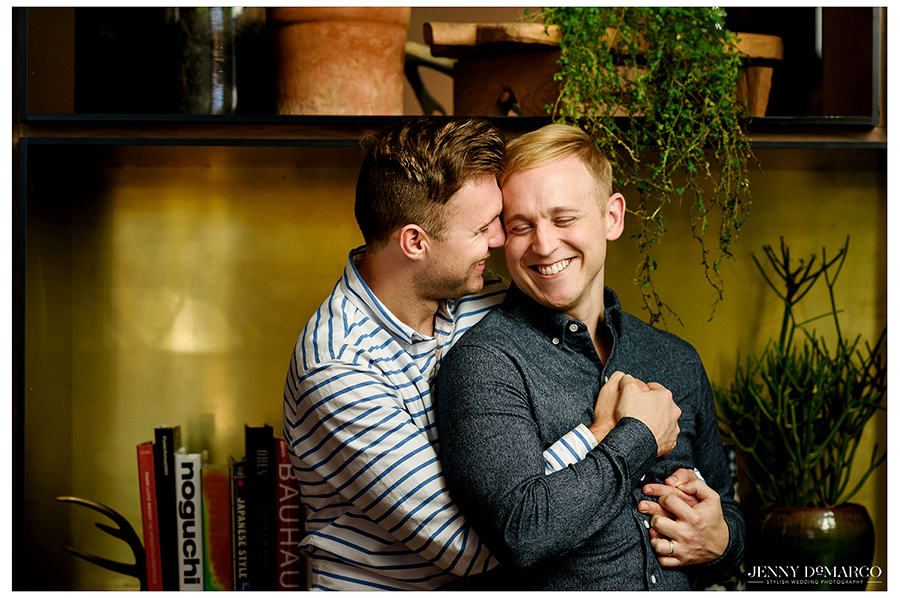South Congress Hotel Engagement Session Austin, TX: Joel and Jeff