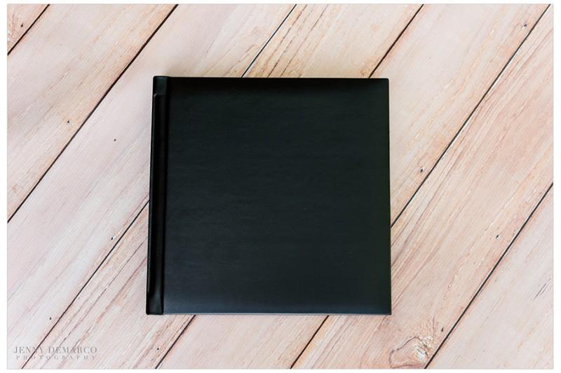 Simple black medium album.