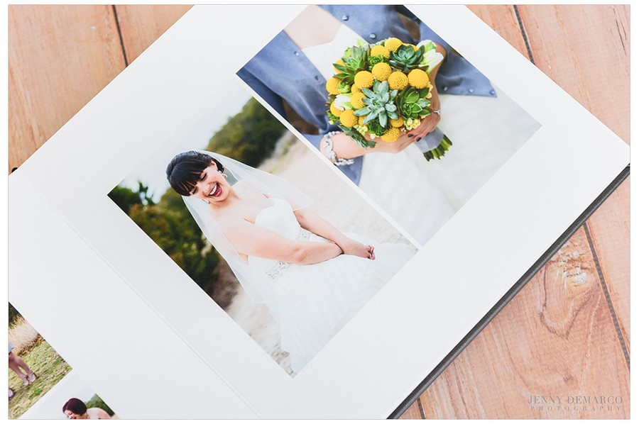 Medium Basic Black Wedding Album