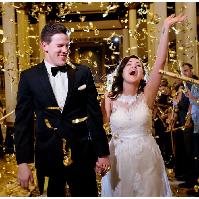 Black Tie Driskill Hotel Wedding: Ashly + Steven