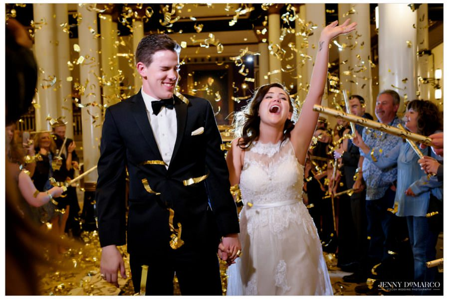 Black Tie Driskill Hotel Wedding: Ashly + Steven