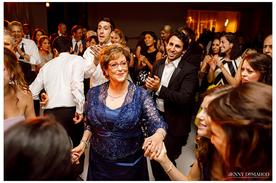 More guests having fun during the reception.