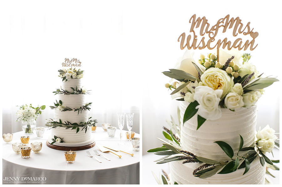 Wedding Cake for newly wed couple