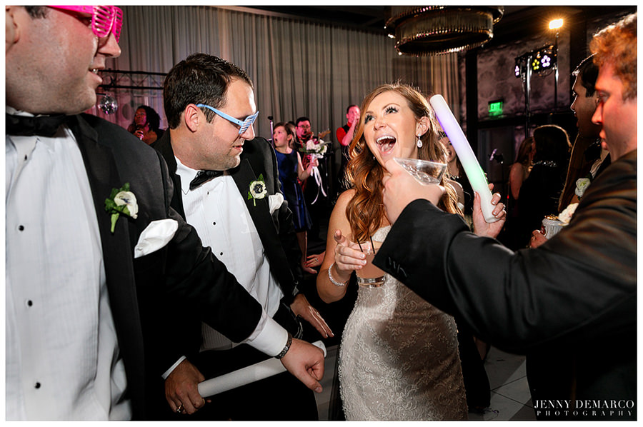 Wedding dance after party at hotel Van Zandt