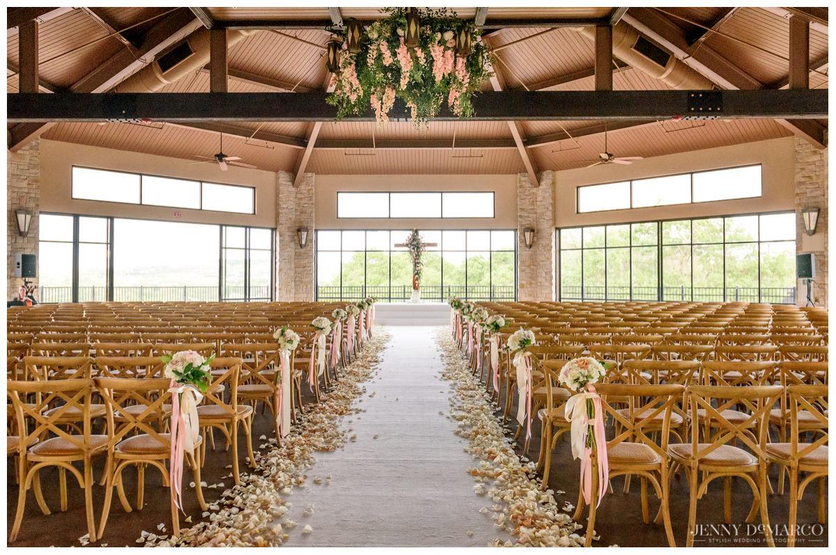 Barton Creek Pavilion beautiful decoration for wedding