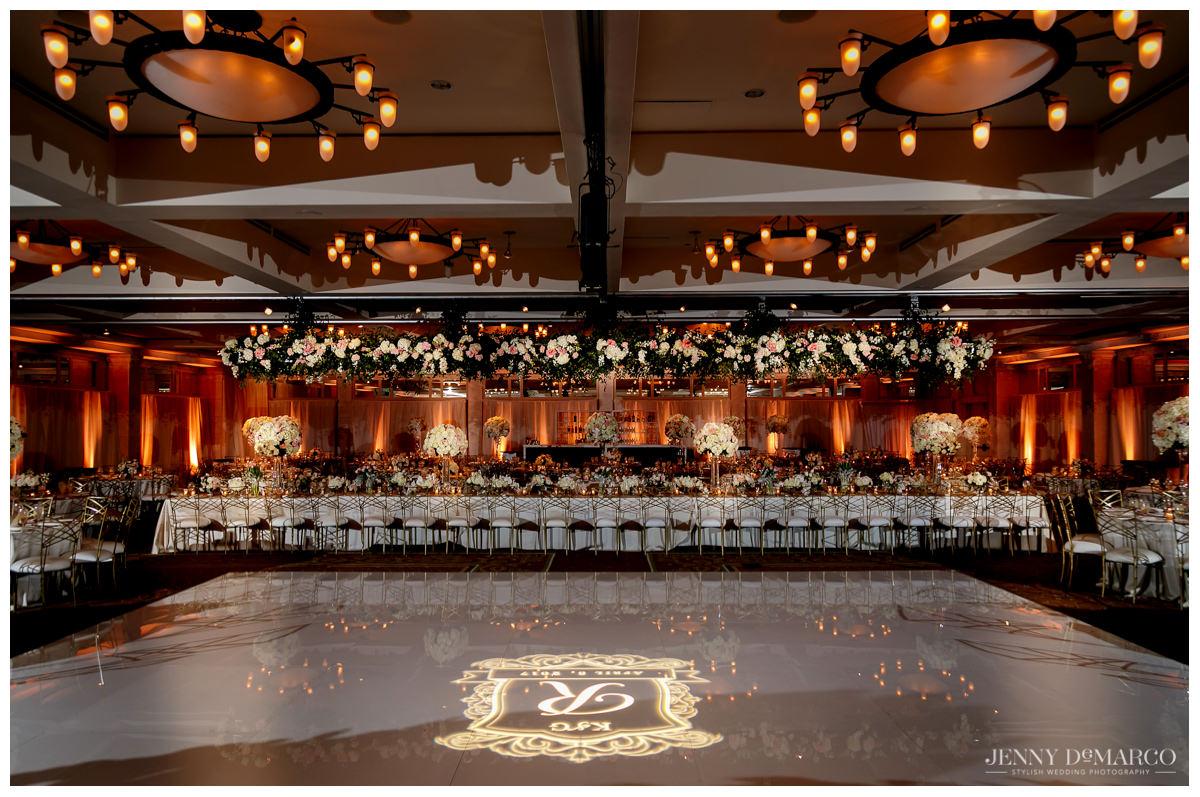 Barton Creek Pavillion interior design at wedding