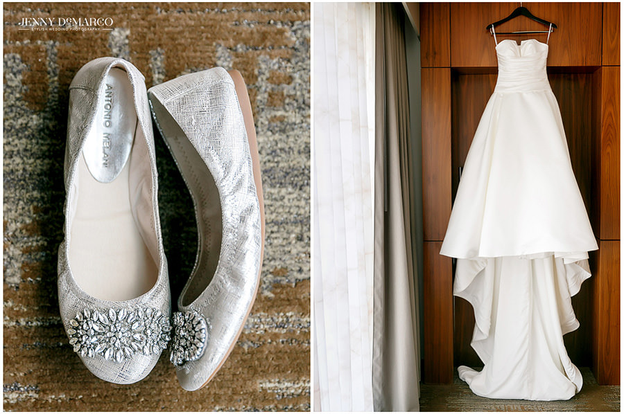 Traditional Wedding At Brazos Hall Jenny Demarco Photography