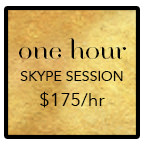 one hour skype mentoring session for $175 an hour