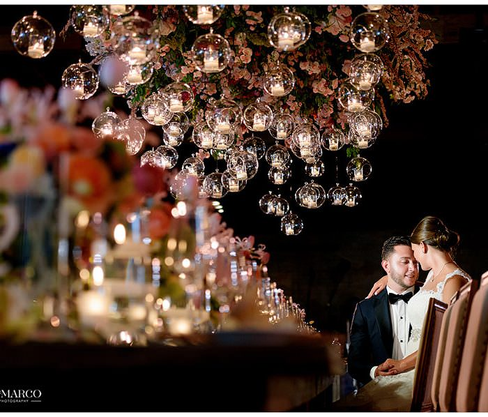 Luxe floral wedding at Brazos Hall